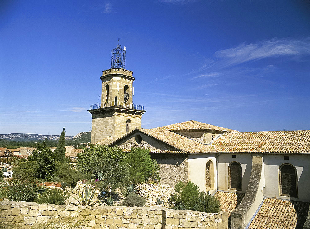 Chapel St. Veredene, Eyguieres, Bouches du Rhone, France, Europe