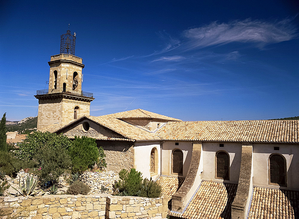 Chapel St. Veredene, Eyguieres, Bouches-du-Rhone, Provence, France, Europe