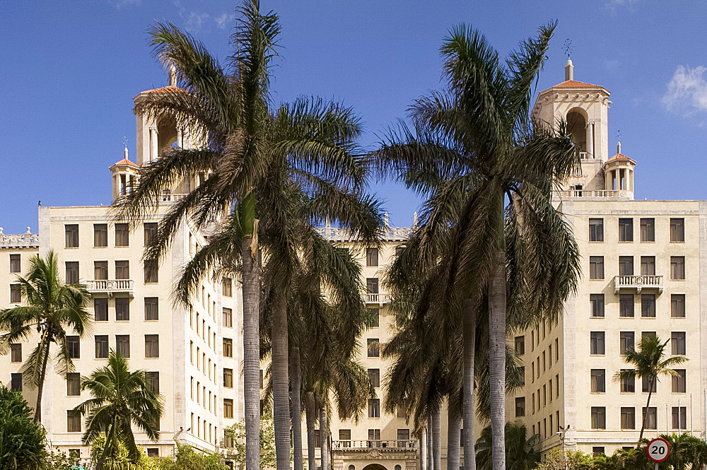 Exterior of the Nacional Hotel, Havana, Cuba, West Indies, Central America