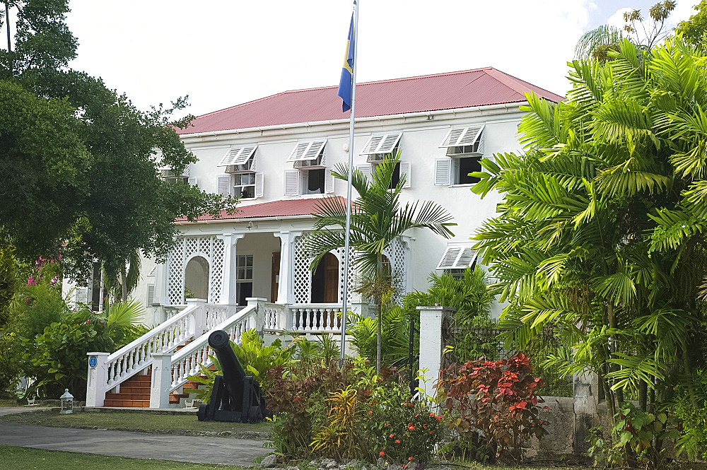 Sunbury Plantation House, a museum and restaurant on the West side of Barbados, The Windward Islands, West Indies, Caribbean, Central America