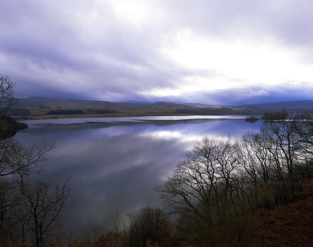 Loch Awe, Strathclyde, Scotland, United Kingdom, Europe
