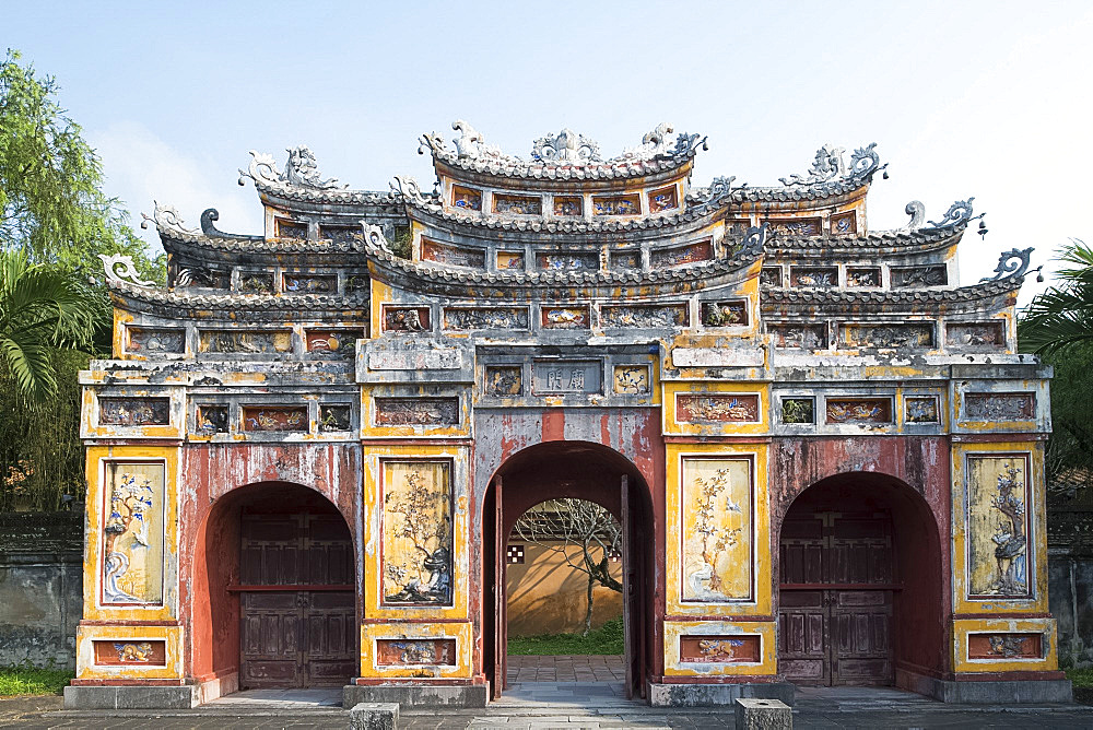 The Chuong Duc Gate in the Hue Imperial City, The Citadel, UNESCO World Heritage Site, Hue, Vietnam, Indochina, Southeast Asia, Asia