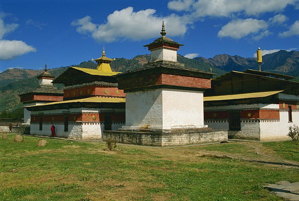 Jambey Dzong, Bumthang, Bhutan, Asia - 188-5991