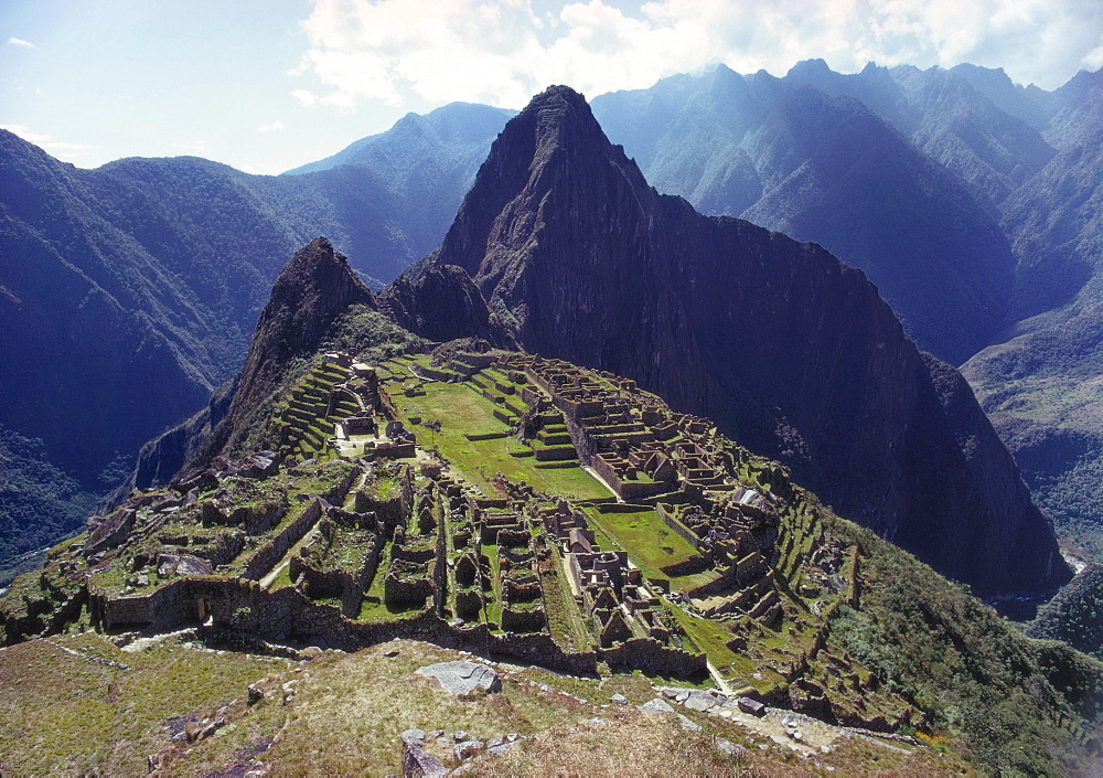 Machu Picchu, Peru, South America - 190-1724