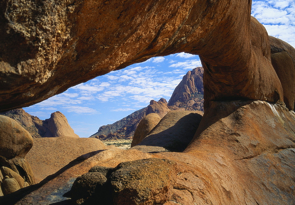 Natural Arch at Spitzkoppe, Namibia, Africa - 197-2375