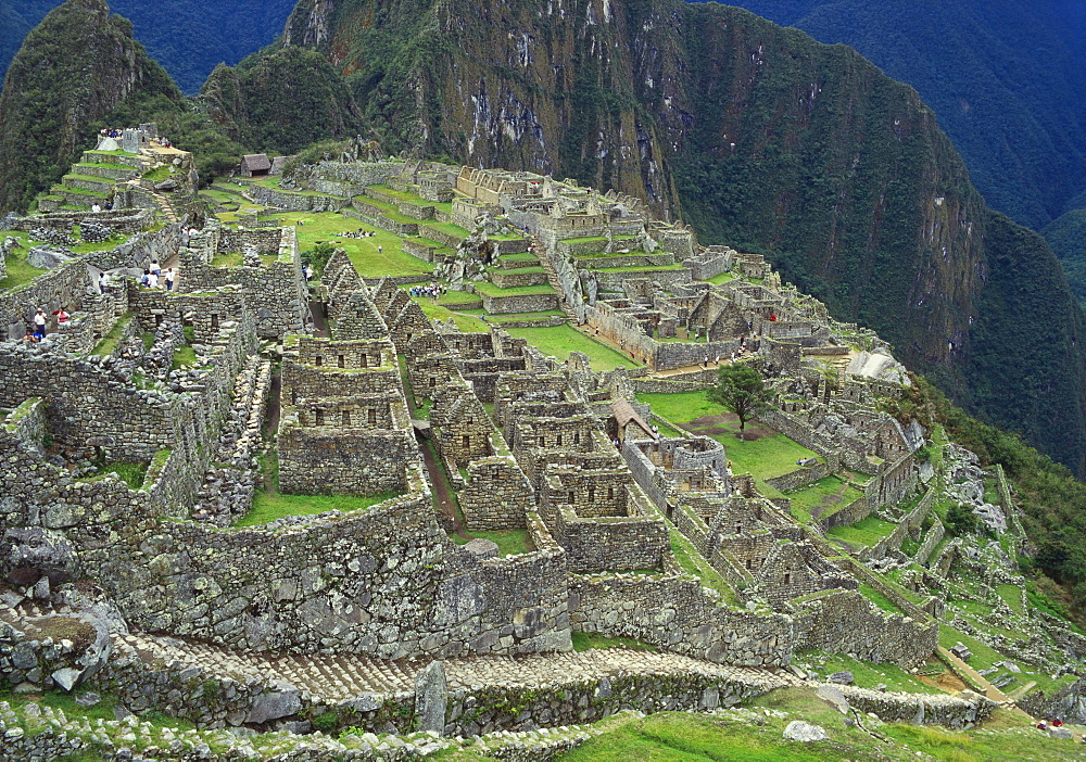 Ancient Incan Ruins of Machu Picchu, Peru - 2-20771