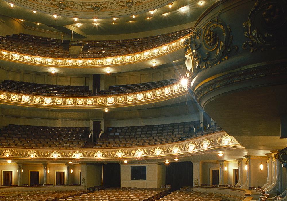 Teatro Municipal Interior, Rio de Janeiro, Brazil - 206-1338