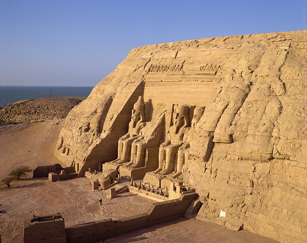 Great Temple of Ramses II, Abu Simbel, UNESCO World Heritage Site, Nubia, Egypt, North Africa, Africa