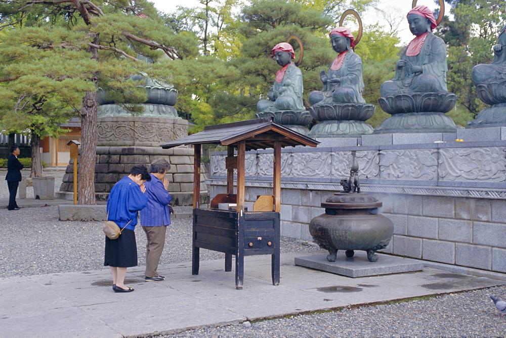 Kenko-ji Temple, Nagano, Japan, Asia