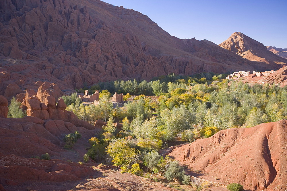 Dades Valley and the Gorges, Atlas Mountains, Morocco, North Africa, Africa