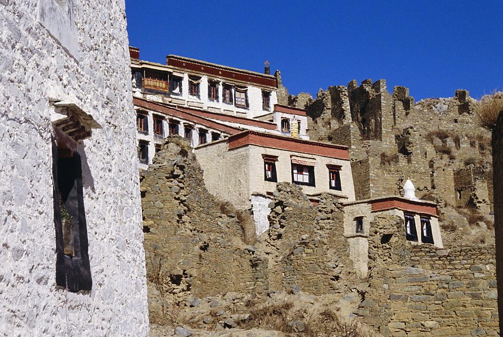 Ganden Monastery, Tibet, China, Asia