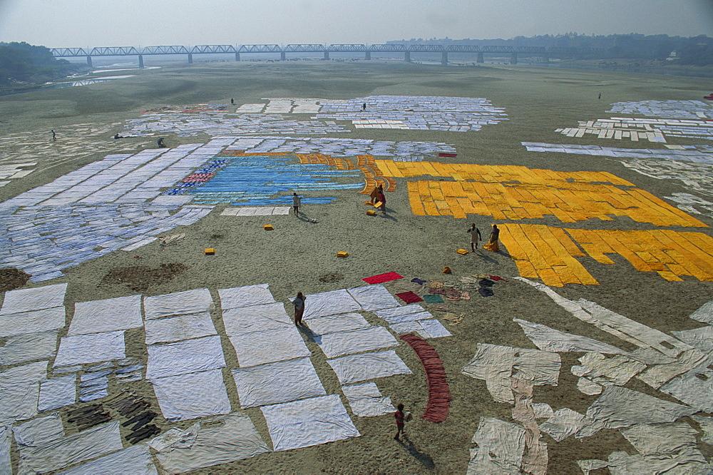 Yamuna River, Agra, Uttar Pradesh state, India, Asia