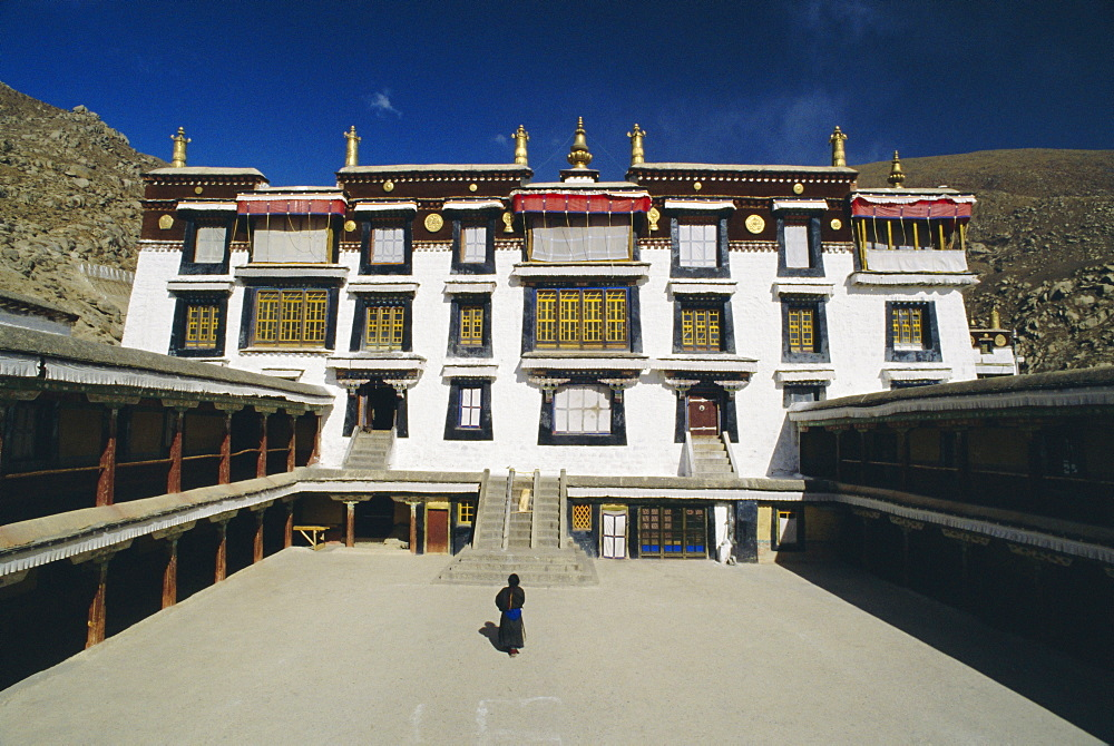 Ganden Palace, Drepung Monastery, Lhasa, Tibet, China, Asia