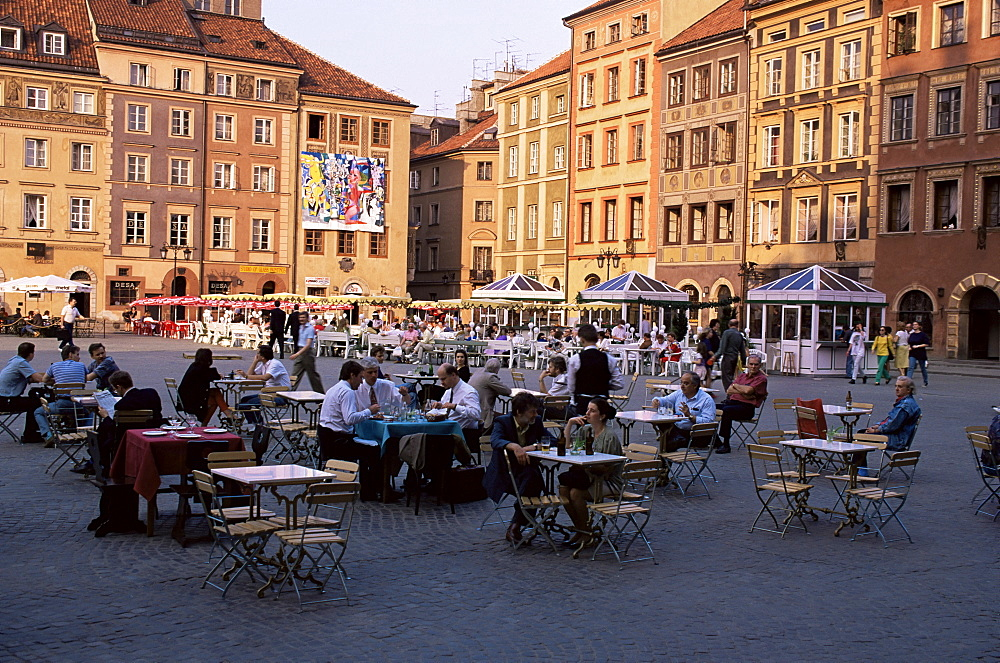 Old Town Square, Warsaw, Poland, Europe - 252-2263