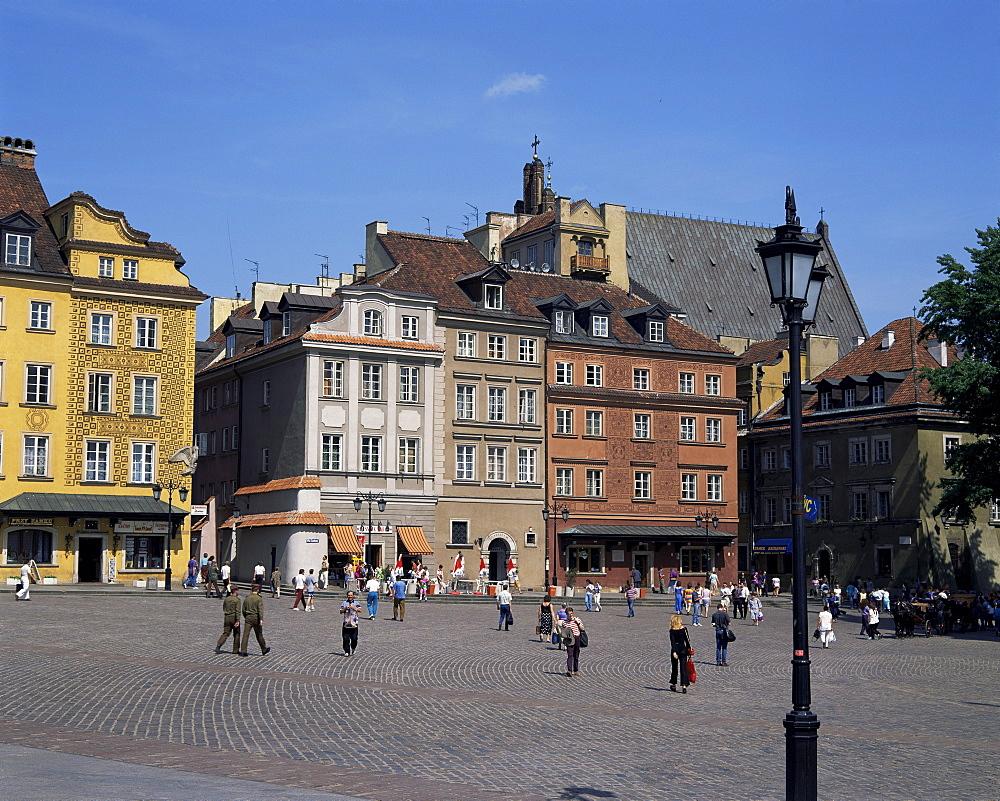 Old Town, Warsaw, Poland, Europe