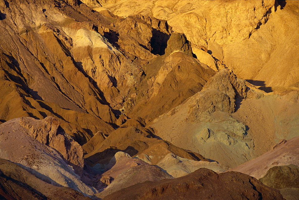 Artists Palette, Death Valley National Monument, California, United States of America, North America