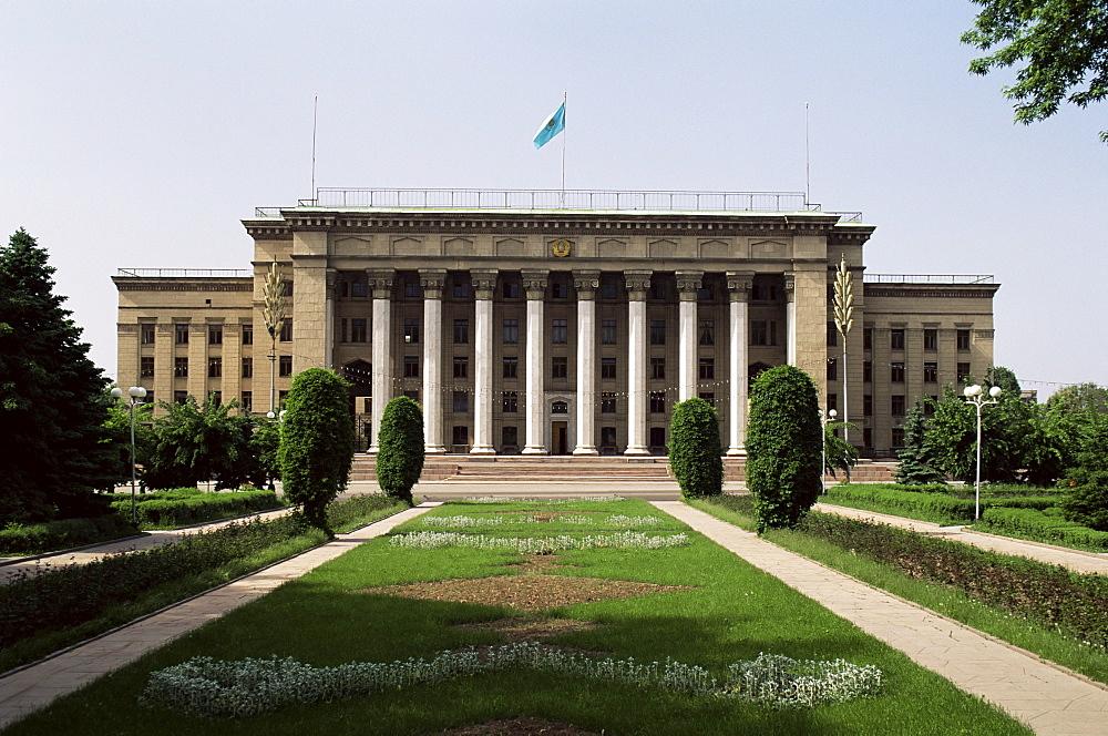 Parliament Building, Alma Ata, Kazakhstan, Central Asia, Asia