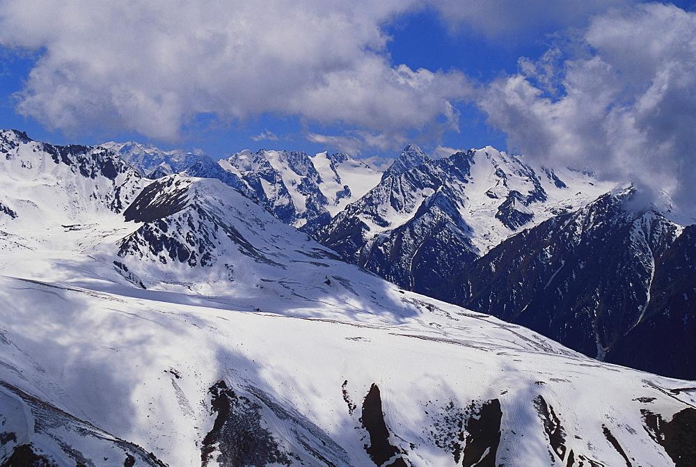 Cis Tien Shan Range Near Lake Issykkul, Kyrgyzstan - 252-3832