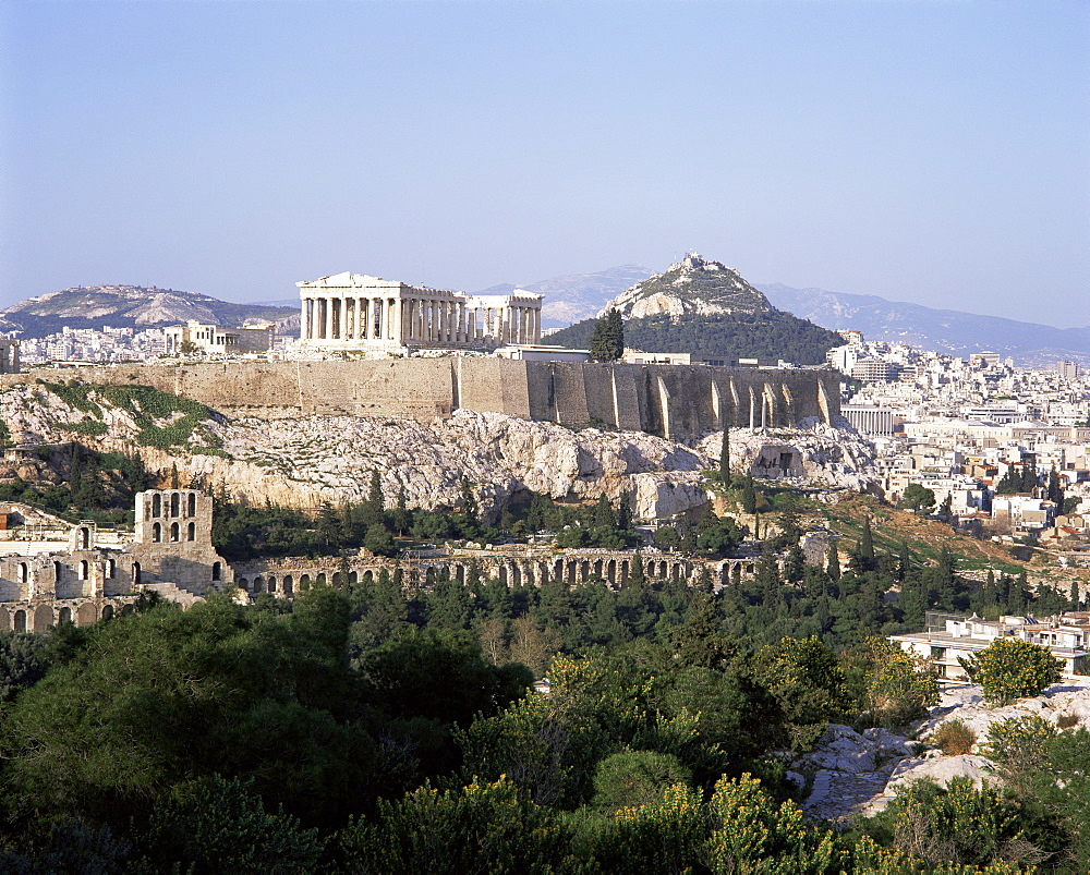 The Acropolis, UNESCO World Heritage Site, Athens, Greece, Europe