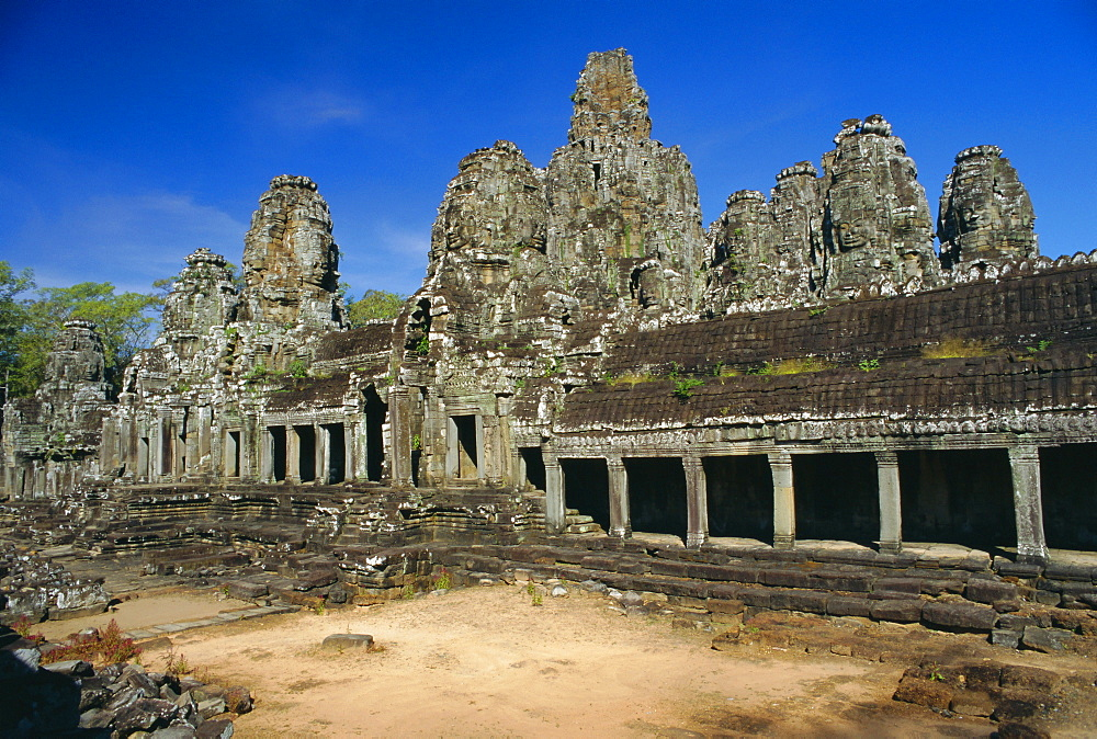 The Bayon Temple, Angkor, Siem Reap, Cambodia