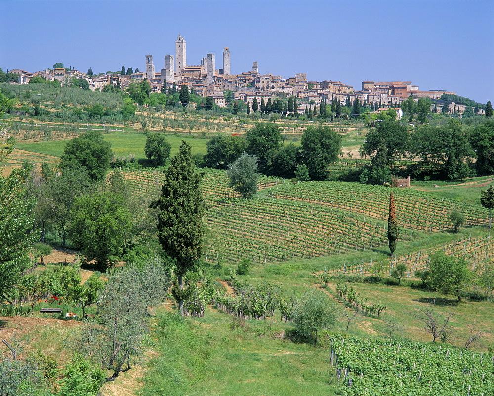San Gimignano, Tuscany, Italy, Europe