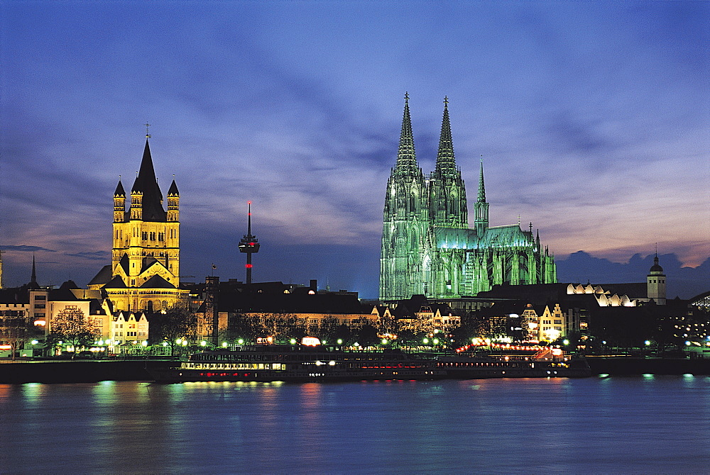Cologne Skyline, Germany - 252-5362