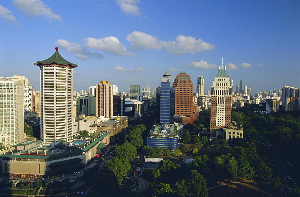 The Orchard Road district, one of Asia's most popular shopping areas, Singapore, Asia