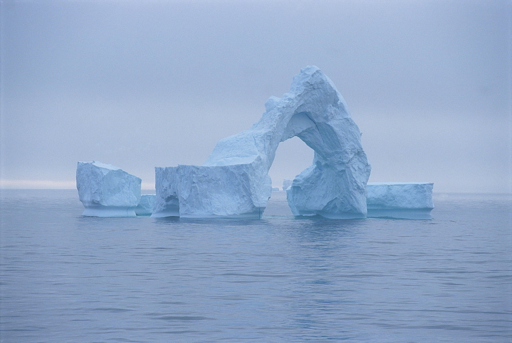 Iceberg in the sea off the southwest coast of Greenland, Polar Regions