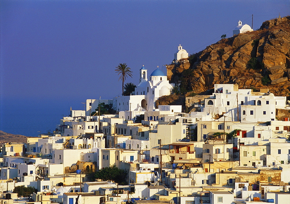Hora Town, Ios Island, The Cyclades, Greece - 252-7386