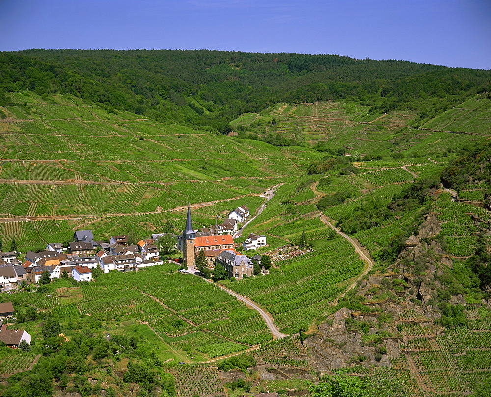 Ahr River Valley, Rhineland Palatinate, Germany, Europe