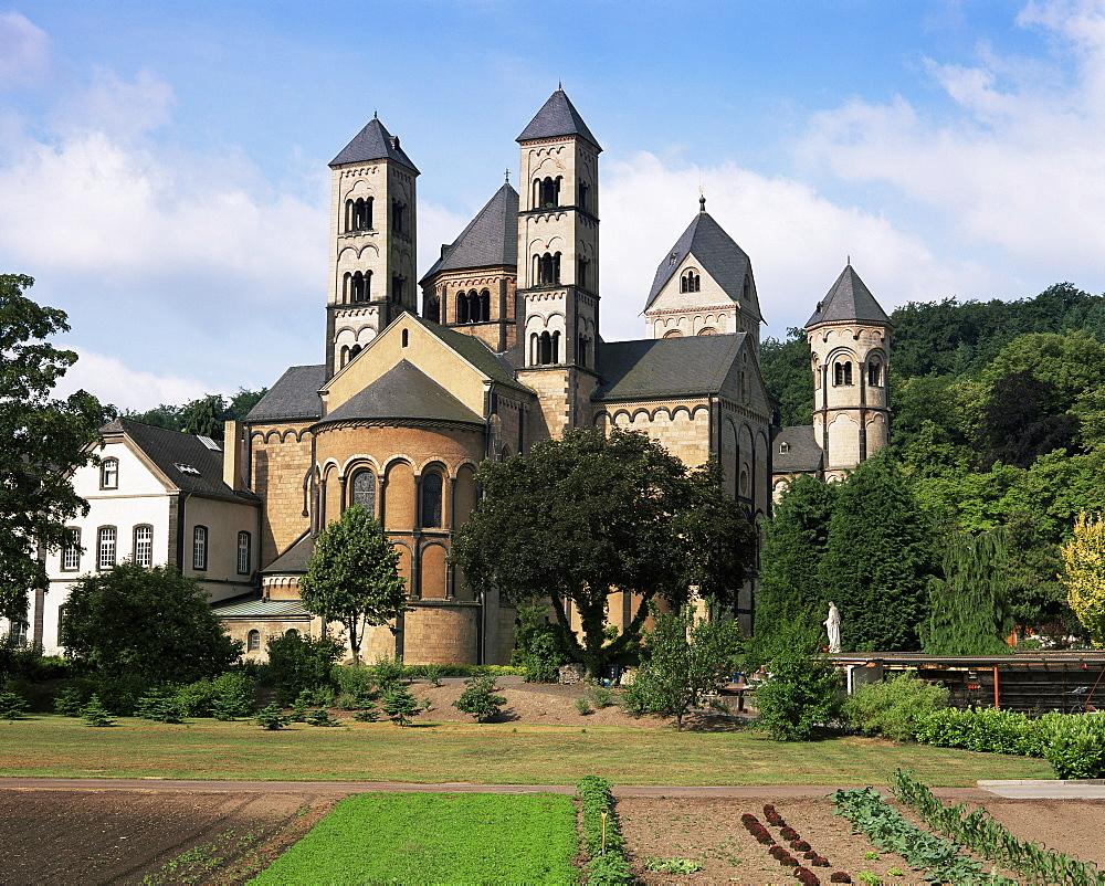 Maria Laach Abbey, Rhineland Palatinate, Germany, Europe
