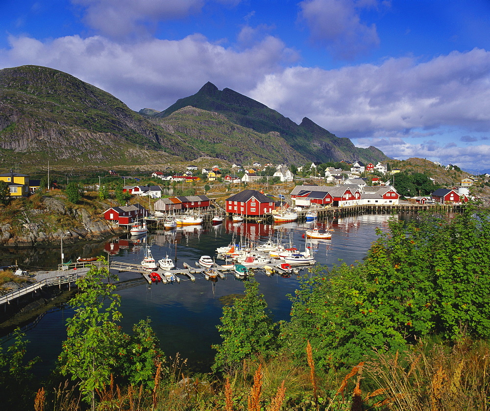 Sorvagen Village, Lofoten Islands, Norway - 252-7888