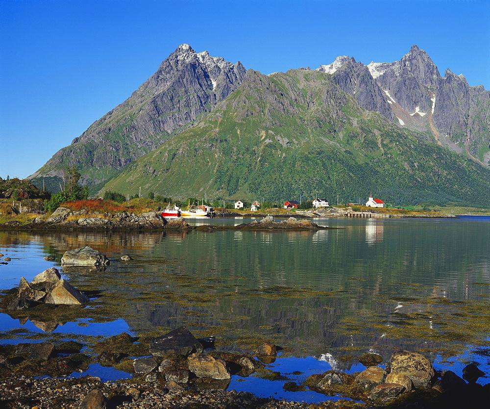 Austnesfjord, Lofoten, Norway - 252-7903