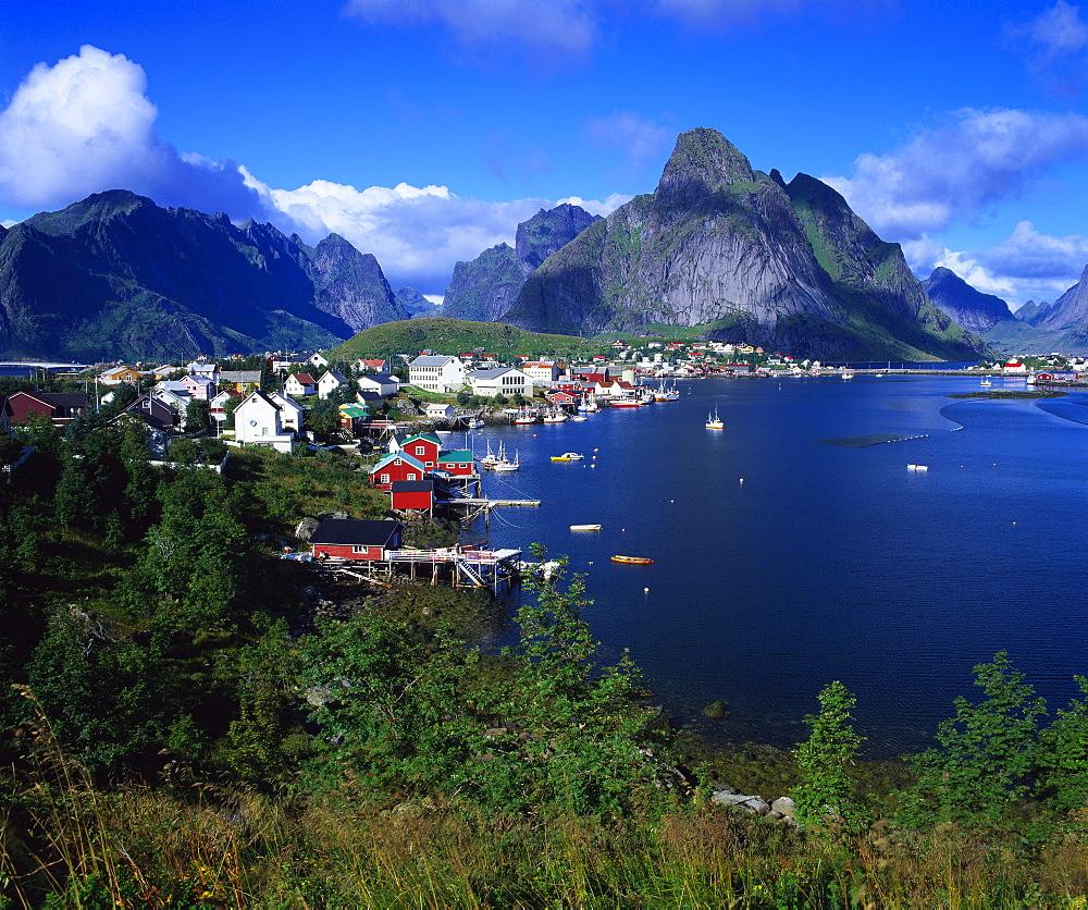Reine Town, Moskenesoy, Lofoten, Norway - 252-7915