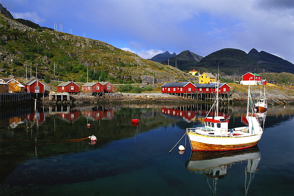 Tin Fishing Village, Lofoten Islands, Norway - 252-8197