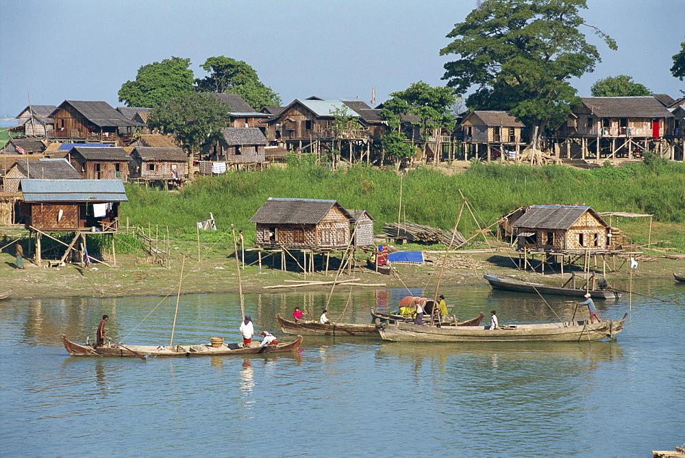 The Ayeyarwady River, Mandalay, Myanmar (Burma), Asia