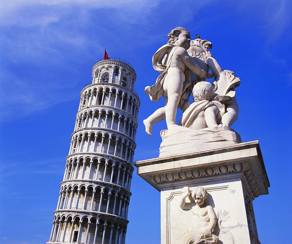 Leaning Tower of Pisa, Pisa, Italy - 252-9208