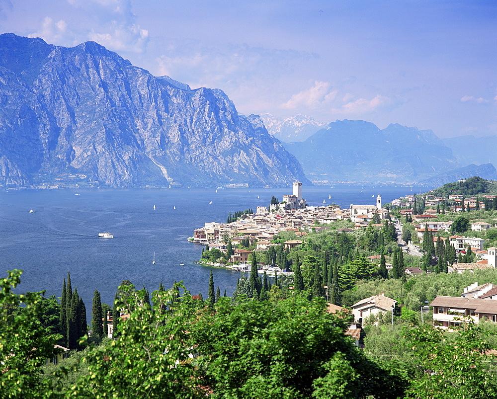 Malcesine, Lake Garda, Trentino-Alto Adige, Italian Lakes, Italy, Europe