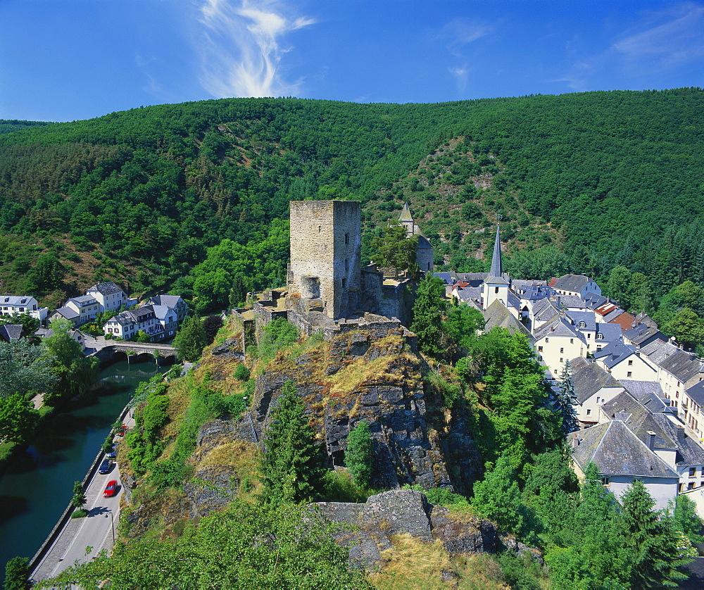 Esch sur Sure Castle, Esch Sur Sure, Luxembourg - 252-9372
