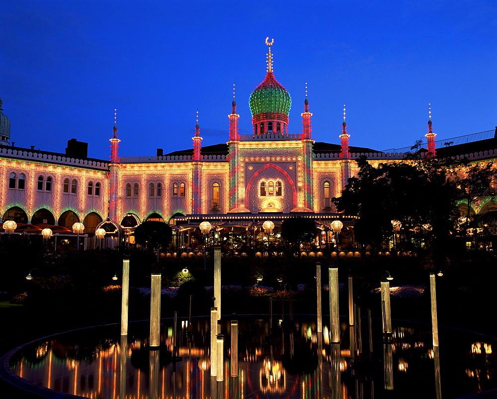 Tivoli, Copenhagen, Denmark, Scandinavia, Europe