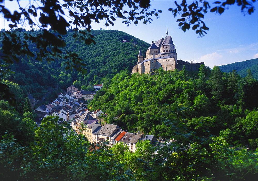 Vianden, Luxembourg, Benelux - 252-9885