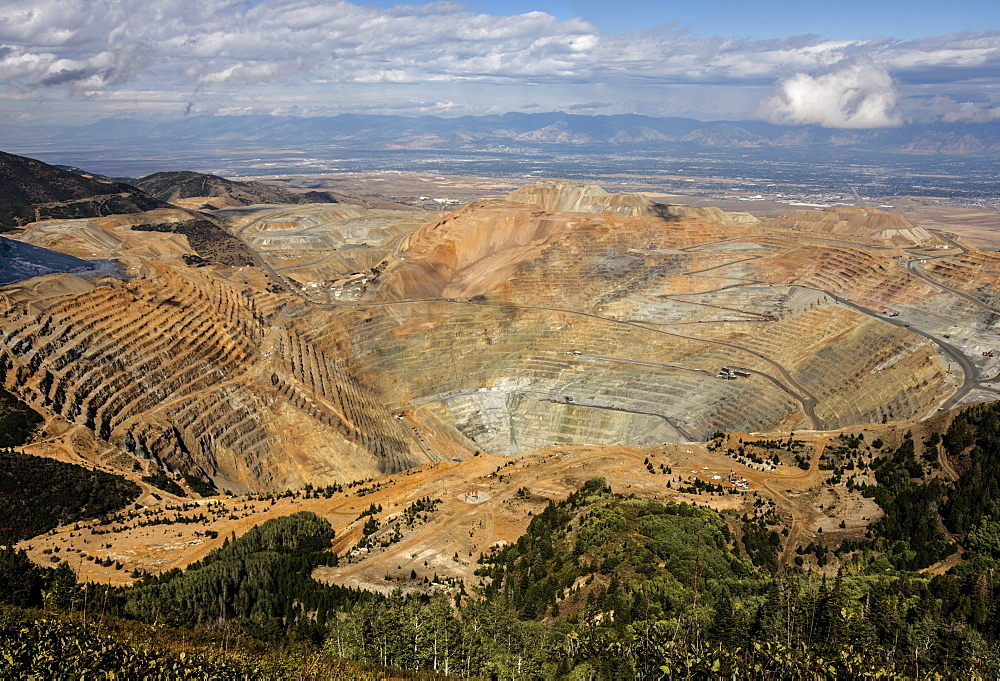 Bingham Canyon Copper Mine, Salt Lake City, Utah, United States of America, North America