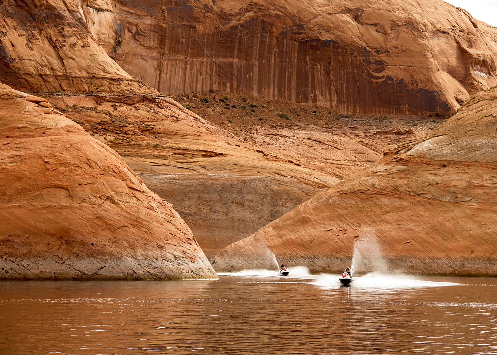 Moki Canyon, Lake Powell, Utah, United States of America, North America - 29-5447
