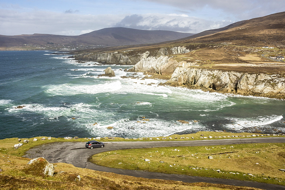 Atlantic Drive, southern Achill Island, County Mayo, Connacht, Republic of Ireland, Europe - 29-5465