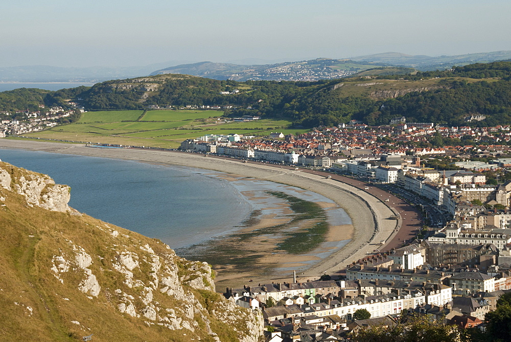 Llandudno, seen from the Great Orme, Conwy County, North Wales, United Kingdom, Europe - 29-5482
