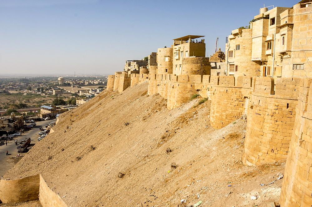 Jaisalmer Fort, Jaisalmer, Rajasthan, India, Asia - 29-5529
