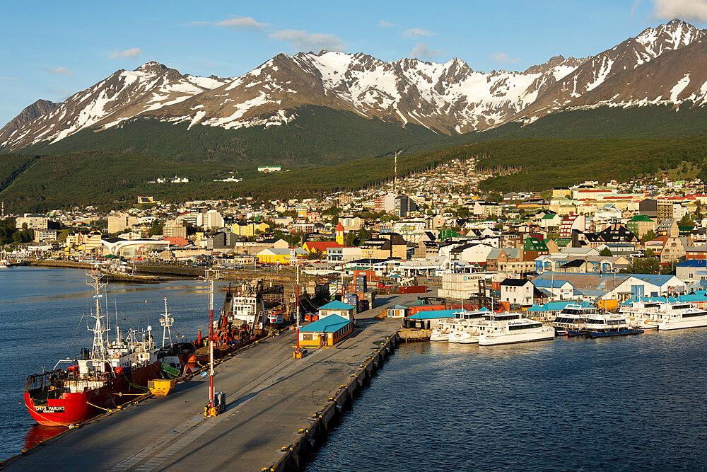 Ushuaia, Tierra del Fuego, Argentina, South America - 29-5576