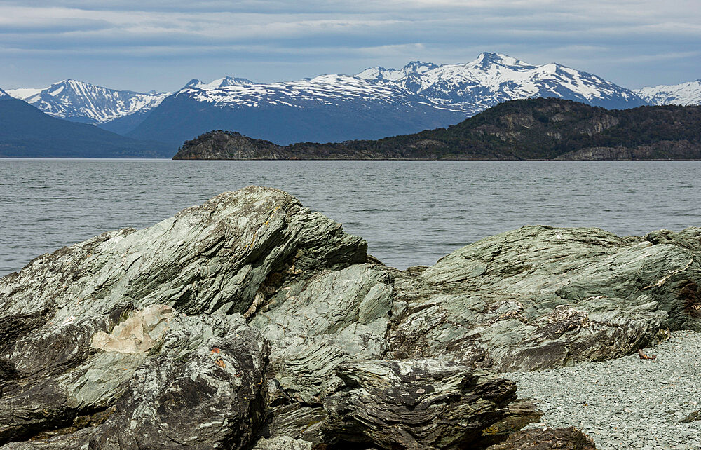 Beagle Channel, Tierra del Fuego National Park, west of Ushuaia, Argentina, South America