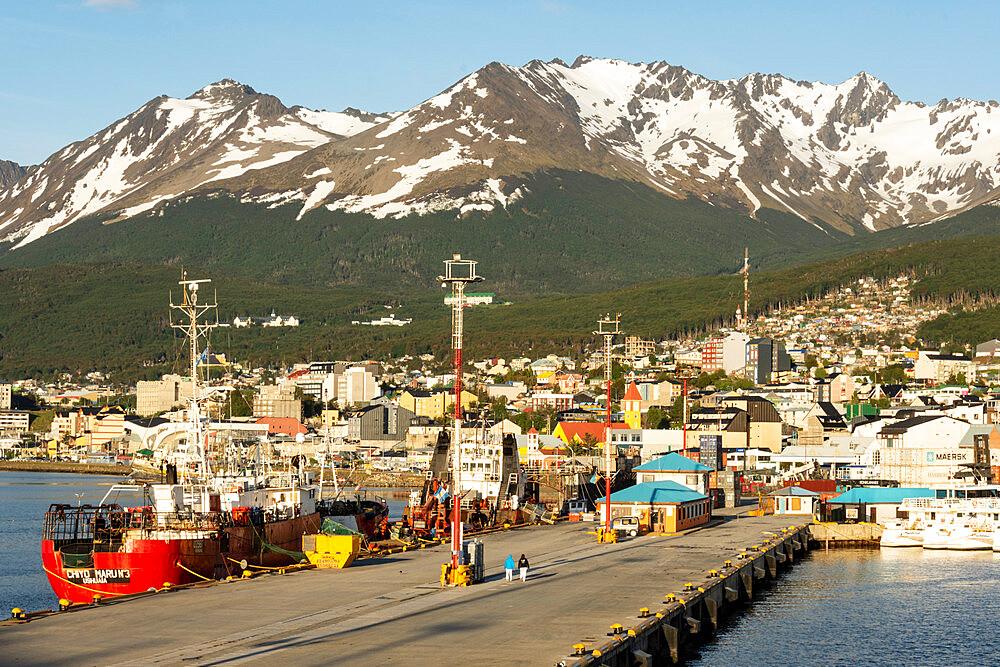 Ushuaia, Tierra del Fuego, Argentina, South America - 29-5578