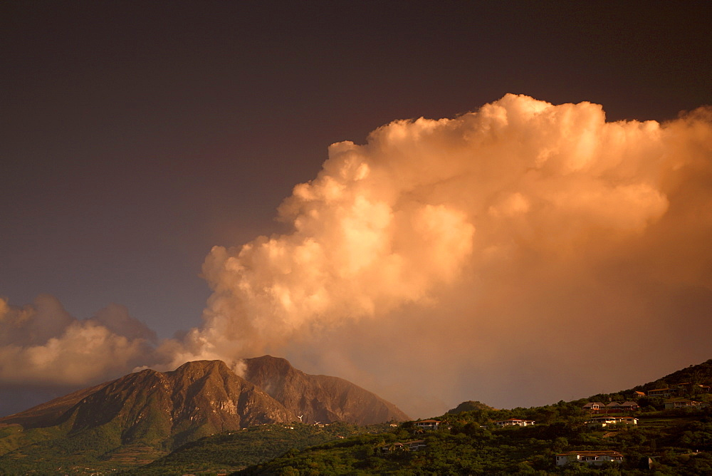 Soufriere hills Volcano, Montserrat, Leeward Islands, West Indies, Caribbean, Central America